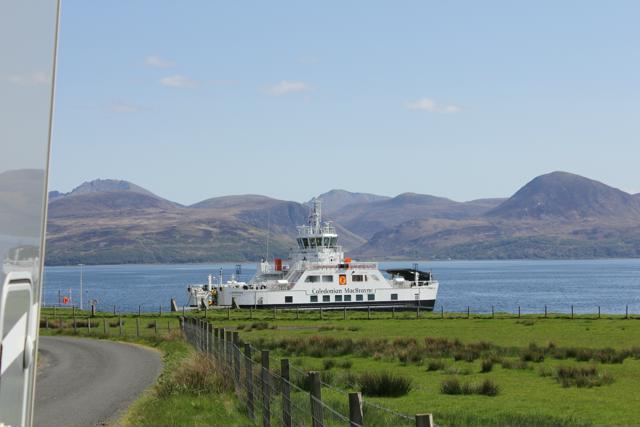 01 ferry to Claonaig