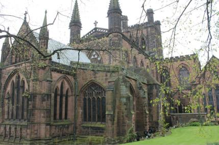 02 Chester Cathederal architecture