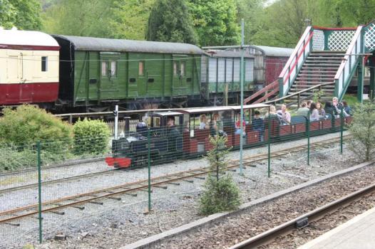 25 minitature steam railway