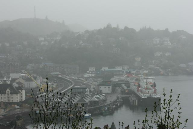 22 view of Oban from tower
