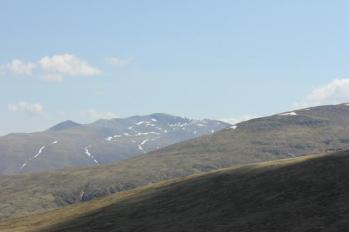 83 view of mountain range