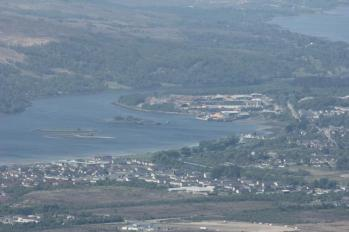 80 view of Fort William