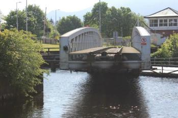 55 train bridge opening