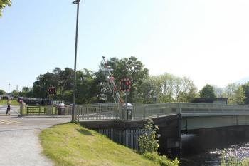 56 gates going down on raod bridge