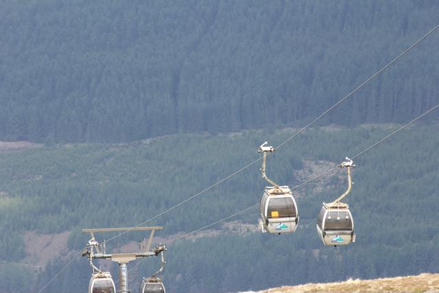 76 gondola up Ben Nevis Range
