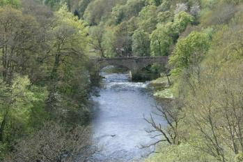 06 View of River Dee from Aquaduct