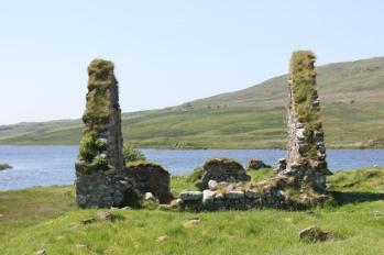 16 ruins of the house