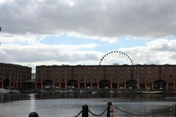 07 Albert Dock with Wheel of Liverpool