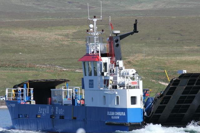 15 ferry to Jura