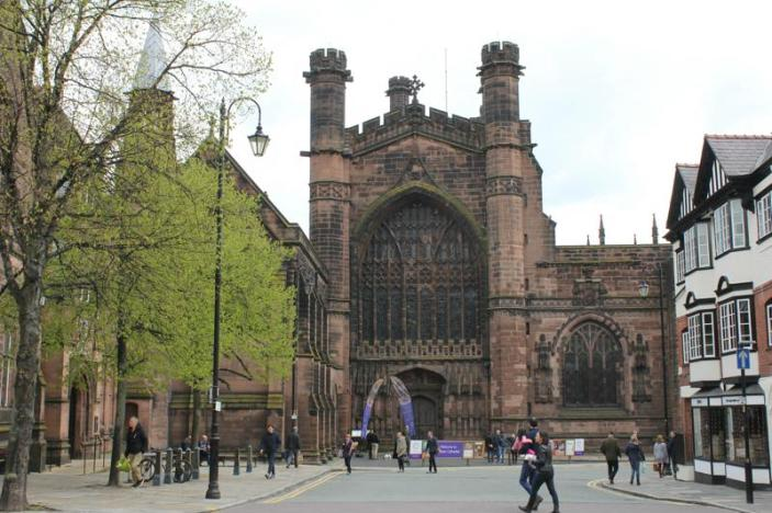 03 Chester Cathederal front