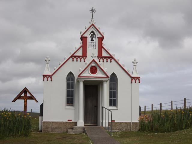 40 The Italian Chapel