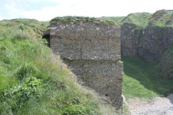 31 remains of Findlater Castle