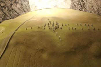 25 display of Callanish Standing Stones