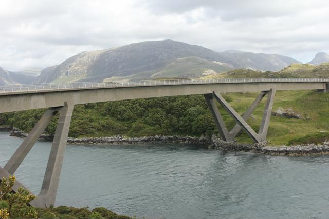 24 bridge over to Kylesku