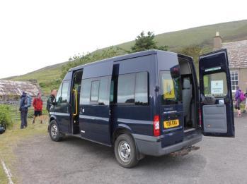 08 minivan to Rackwick