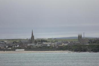 15 Thurso from Scrabster ferry terminal