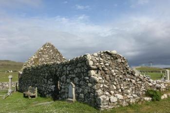 27 Trumpan Church remains