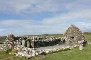 28 Trumpan Church remains