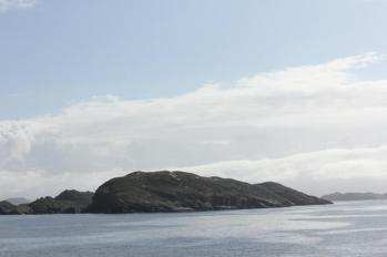 02 Summer Islands as ferry comes into Ullapool