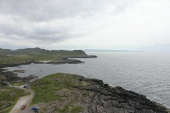 39 view of Point Ardnamurcahn from lighthouse tower
