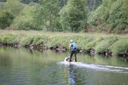 05 paddle boarder on Loch