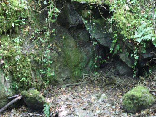 19 original entrance to Doolin Cave