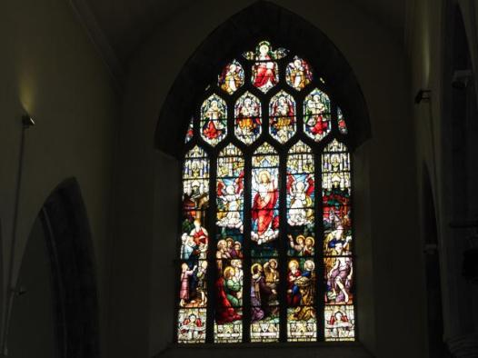 21 stained glass window