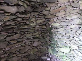 12 corbeling inside Beehive Hut