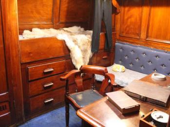 31 inside Scott's cabin
