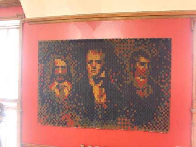 90 tapestry ofScott, Burns and Stevenson