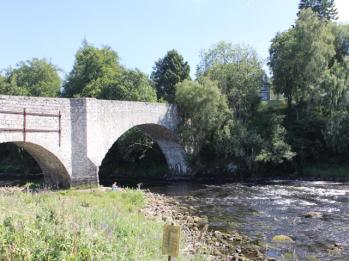 29 Spey Bridge over Spey River