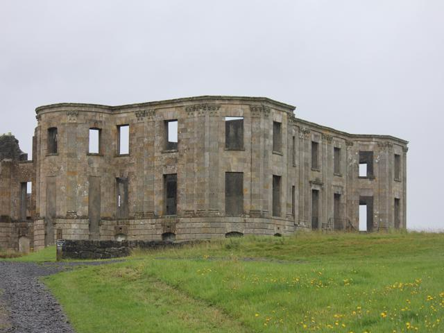 63 Downhill Demesne ruins