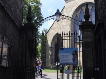 23 Greyfriars Kirk gates