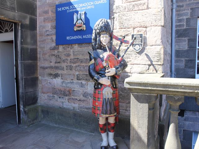 31 outside The Royal Scots Dragoon Guards Regimental Museum