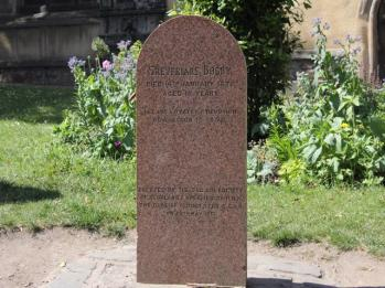 22 grave of Greyfriars Bobby owner