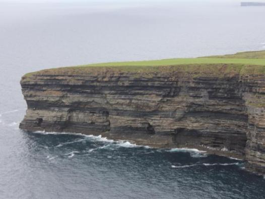 16 cliffs across from Ceide Fields