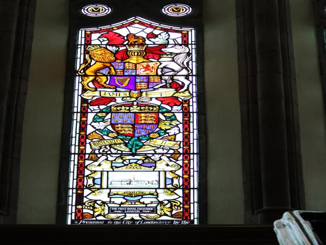 39 stained glass windows in Guidhall