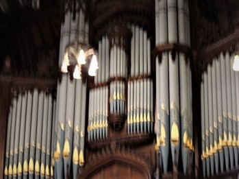 40 organ in Guildhall