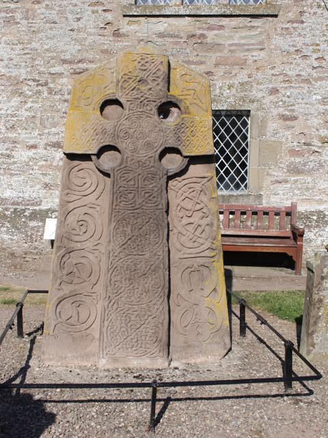 16 front of Churchyard Cross