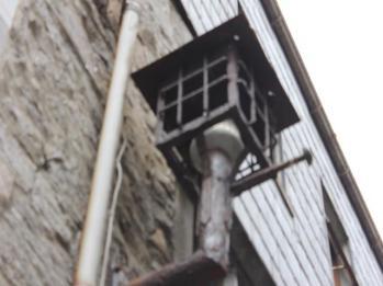 15 original gas lamp in Kerwan's Lane