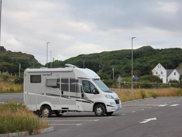 01 campsite at Teelin