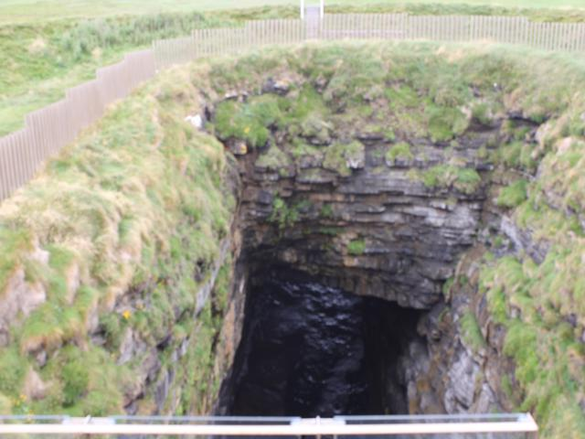 20 blowhole at Downpatrick Head