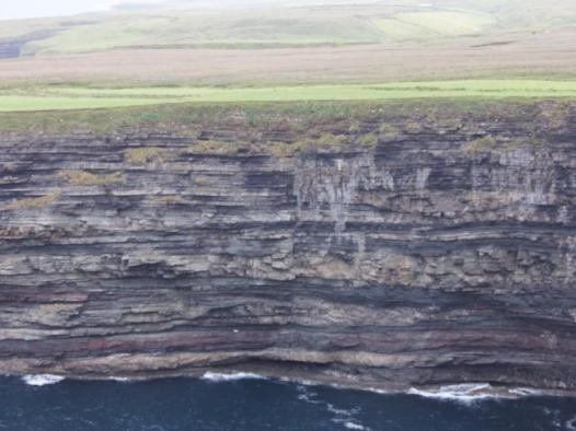 17 cliffs across from Ceide Fields