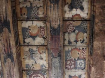 34 hand painted ceiling