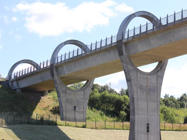 42 Falkirk Wheel Clyde and Forth Canal section