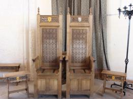 24 James V & Mary's chairs