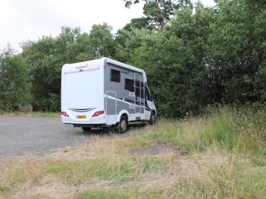 88 Clyde and Forth Canal campsite for the night (2)