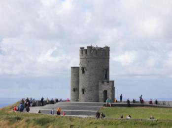 22 round stone tower