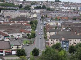18 Bogside from the wall