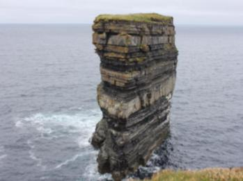 21 sea stack at Downpatrick Head
